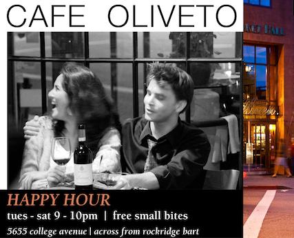 cafe oliveto ad