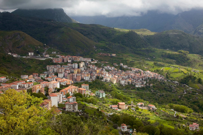 "Small town of Verbicaro in Calabria, Italy. (photo from Rosetta Constantino of ""My Calabria"")"