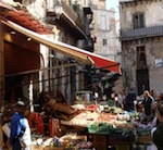 A Sicilian market.