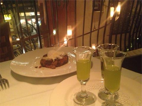 New oil flight with Chef Rhodehamel's ribollita