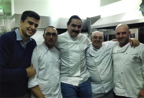 Vito Tuccino Centrone, Vito Aversa, Vince Sanchez, Giuseppe Aversa and Enzo Florio.