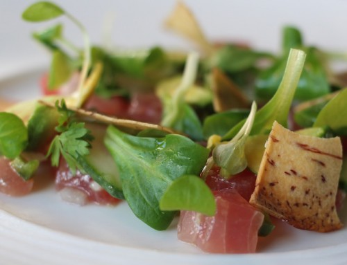 This Just In: Crudo of Yellowfin Tuna